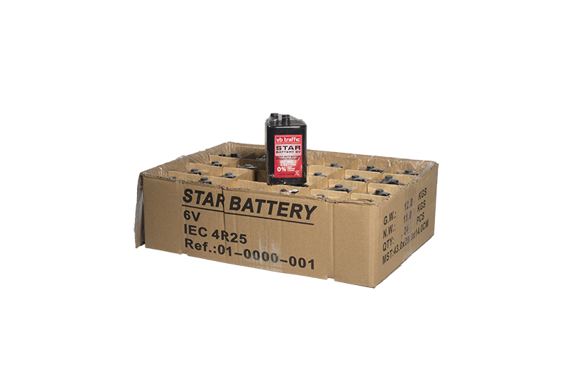 Signalinio žibinto baterija